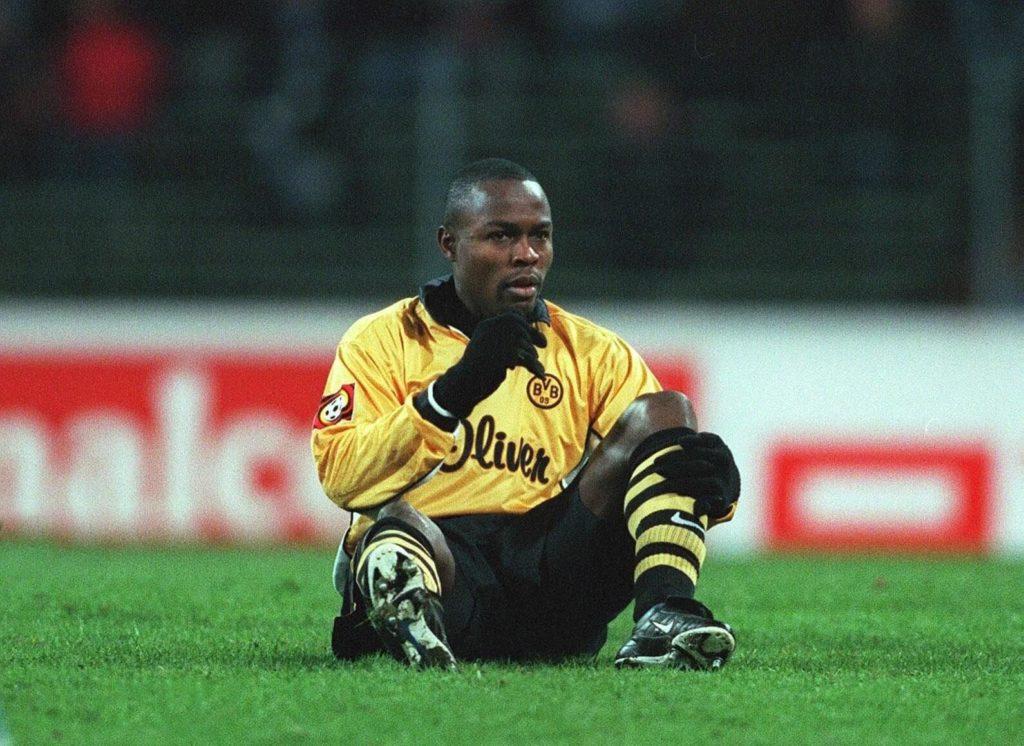 Sechs Millionen Euro bezahlte Borussia Dortmund 1999 an den AS Monaco für Stürmer Victor Ikpeba. Foto: Getty Images