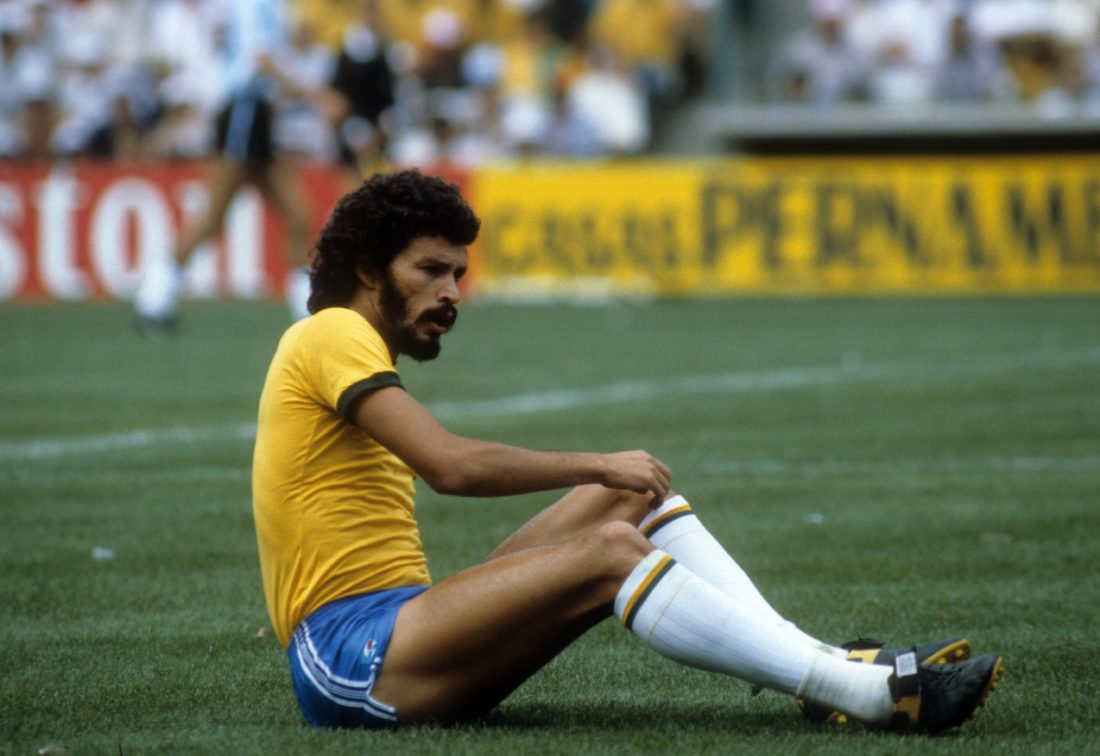Socrates - Brazils tragic football hero from the 70s and 80s.