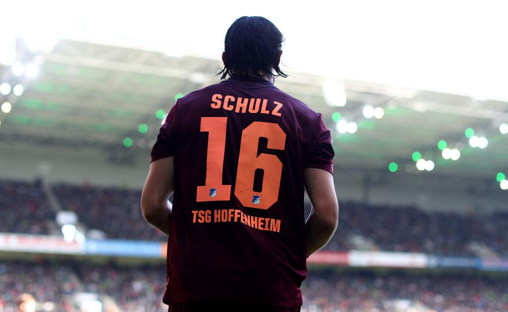 Nico Schulz im Dress von 1899 Hoffenheim. Der Nationalspieler wechselte zu Borussia Dortmund.