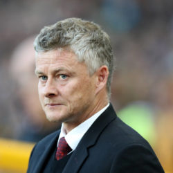 Solskjaer , the Manchester United manager