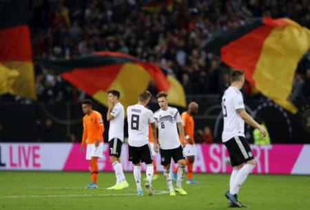 Deutschland reichte gegen die Niederlande eine 1:0-Pausenführung nicht aus...