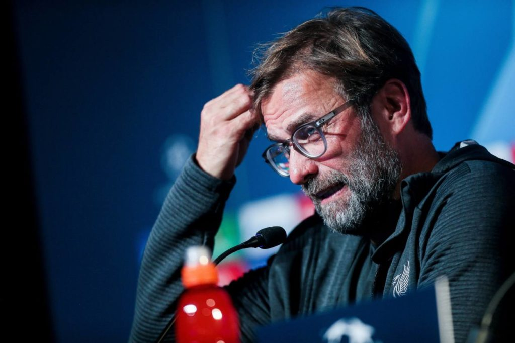 Jurgen Klopp issues Alex Oxlade Chamberlain injury update