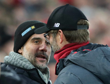 Klopp Guardiola Liverpool Man.City