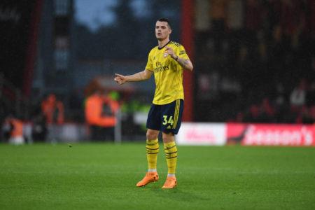 Granit Xhaka AFC Bournemouth FC Arsenal