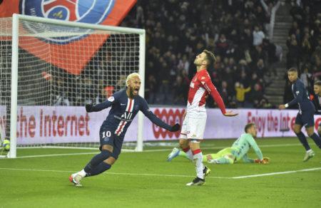 PSG gegen AS Monaco 3:3
