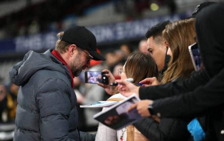 Jürgen Klopp West Ham United FC Liverpool