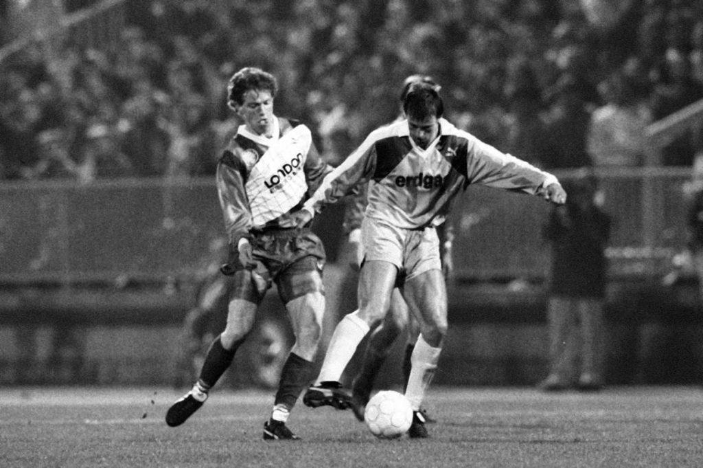 FC Homburg - Borussia Mönchengladbach 23. März 1990ch 23.