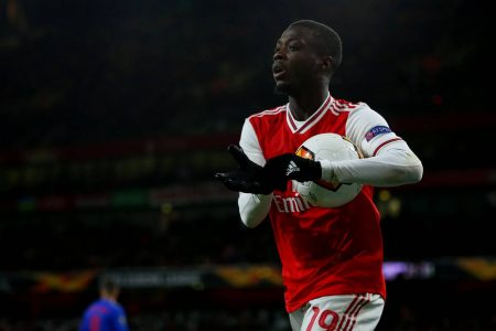 Stewart Robson has faith in Nicolas Pepe