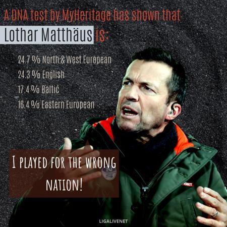 Lothar Matthäus DNA