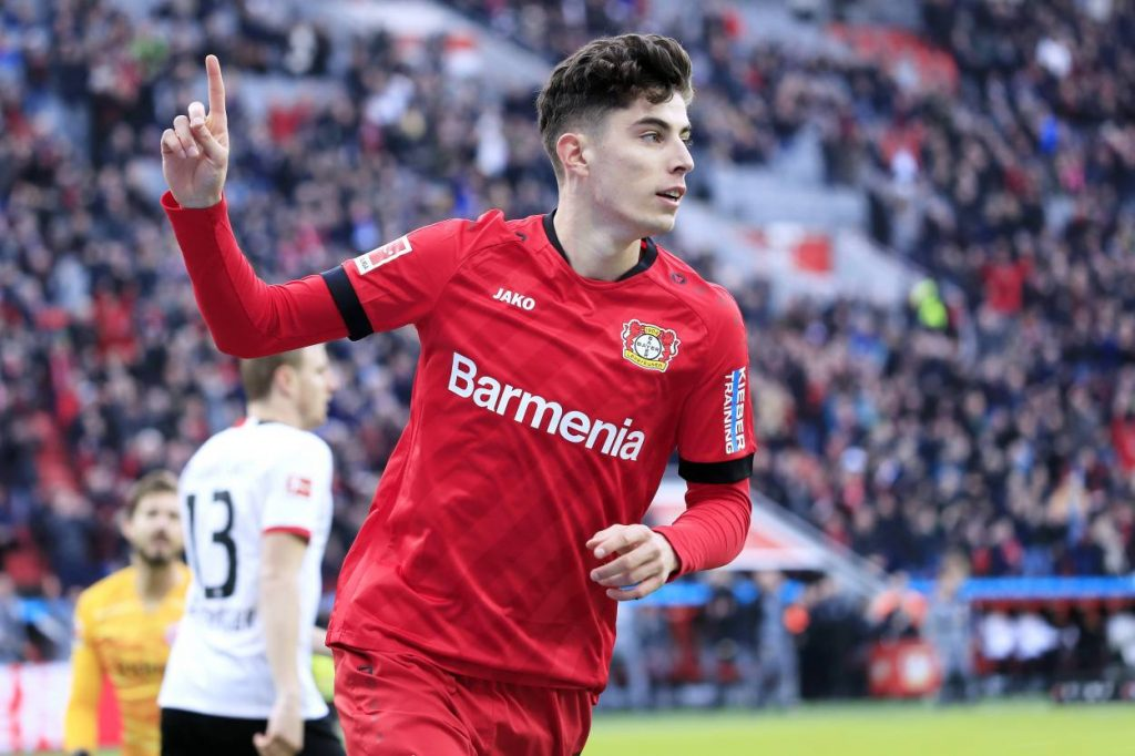 Chelsea are interested in the acquisition of the 20-year-old Bayer Leverkusen winger.