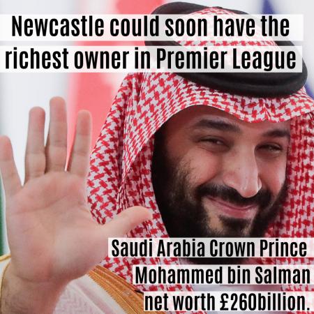 Newcastle takeover by Saudi Arabia prince