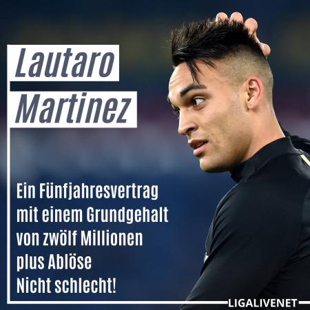 Lautaro Martinez Transfer