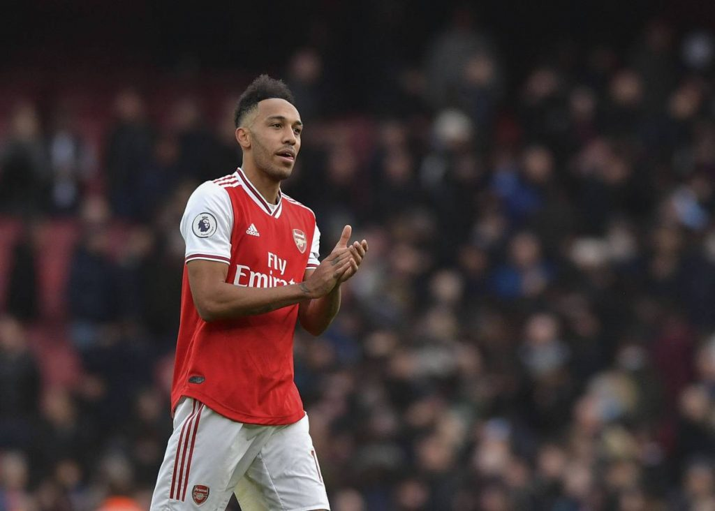 Arsenal boss Mikel Arteta reveals that Pierre-Emerick Aubameyang is happy at the club as Gunners looking to hold on to the striker.