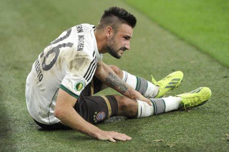 Er blieb zu lange beim FC Bayern – Diego Contento.