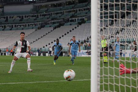 Cristiano Ronaldo Juventus Turin Lazio Rom