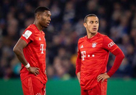 Ratlos! Die Zukunft von David Alaba und Thiago beim FC Bayern ist nach wie vor unklar...