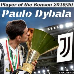 Paulo Dybala is the player of the Season 2019/20