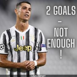 Ronaldo after Juventus knock out