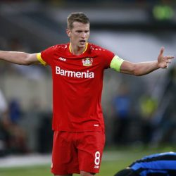 Bayer Leverkusen captain Lars Bender disppointed after early exit from Europa League as Inter Milan beat Bundesliga club by 2-1.