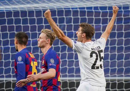Thomas Müller FC Barcelona - FC Bayern München 2:8