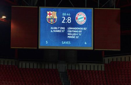 Barcelona 2 – 8 Bayern Munich: Five damning stats from the night Barca hit rock bottom
